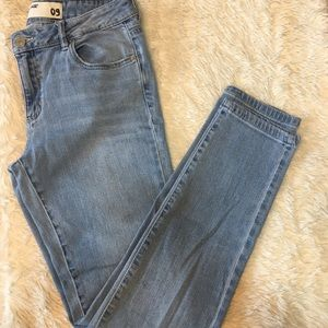 Garage light wash jeans